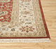Jaipur Rugs - Hand Knotted Wool Red and Orange CX-2664 Area Rug Cornershot - RUG1081543