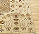 Jaipur Rugs - Hand Knotted Wool Beige and Brown CX-2665 Area Rug Cornershot - RUG1081541