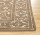 Jaipur Rugs - Hand Tufted Wool and Viscose Beige and Brown CX-2916 Area Rug Cornershot - RUG1089991