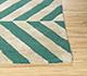 Jaipur Rugs - Hand Tufted Wool and Viscose Green CX-2934 Area Rug Cornershot - RUG1090326