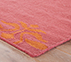 Jaipur Rugs - Flat Weave Wool Pink and Purple DW-108 Area Rug Cornershot - RUG1032750