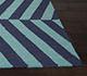 Jaipur Rugs - Flat Weave Wool Blue DW-112 Area Rug Cornershot - RUG1033064
