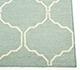 Jaipur Rugs - Flat Weave Wool Blue DW-119 Area Rug Cornershot - RUG1038727