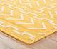 Jaipur Rugs - Flat Weave Wool Gold DW-121 Area Rug Cornershot - RUG1032759