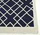 Jaipur Rugs - Flat Weave Wool Blue DW-146 Area Rug Cornershot - RUG1038788