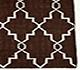 Jaipur Rugs - Flat Weave Wool Beige and Brown DW-162 Area Rug Cornershot - RUG1060334