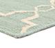 Jaipur Rugs - Flat Weave Wool Blue DW-162 Area Rug Cornershot - RUG1060323
