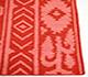 Jaipur Rugs - Flat Weave Wool Red and Orange DW-51 Area Rug Cornershot - RUG1033147