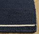 Jaipur Rugs - Flat Weave Wool Blue DWRM-05 Area Rug Cornershot - RUG1095681