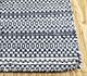 Jaipur Rugs - Flat Weave Wool Blue DWRM-06 Area Rug Cornershot - RUG1095682