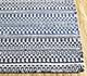 Jaipur Rugs - Flat Weave Wool Blue DWRM-07 Area Rug Cornershot - RUG1095917