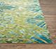 Jaipur Rugs - Hand Knotted Wool and Bamboo Silk Green ESK-400 Area Rug Cornershot - RUG1072359