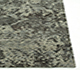 Jaipur Rugs - Hand Knotted Wool and Bamboo Silk Grey and Black ESK-401 Area Rug Cornershot - RUG1040350