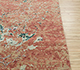 Jaipur Rugs - Hand Knotted Wool and Bamboo Silk Red and Orange ESK-406 Area Rug Cornershot - RUG1081142