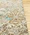 Jaipur Rugs - Hand Knotted Wool and Bamboo Silk Ivory ESK-406 Area Rug Cornershot - RUG1081194