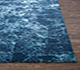 Jaipur Rugs - Hand Knotted Wool and Bamboo Silk Blue ESK-411 Area Rug Cornershot - RUG1076517