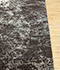Jaipur Rugs - Hand Knotted Wool and Bamboo Silk Grey and Black ESK-411 Area Rug Cornershot - RUG1084806