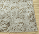 Jaipur Rugs - Hand Knotted Wool and Bamboo Silk Grey and Black ESK-411 Area Rug Cornershot - RUG1094454