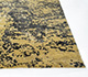 Jaipur Rugs - Hand Knotted Wool and Bamboo Silk Gold ESK-411 Area Rug Cornershot - RUG1090233