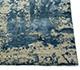 Jaipur Rugs - Hand Knotted Wool and Bamboo Silk Blue ESK-430 Area Rug Cornershot - RUG1053766
