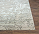 Jaipur Rugs - Hand Knotted Wool and Bamboo Silk Grey and Black ESK-430 Area Rug Cornershot - RUG1074200