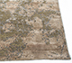 Jaipur Rugs - Hand Knotted Wool and Bamboo Silk Beige and Brown ESK-430 Area Rug Cornershot - RUG1089662