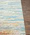 Jaipur Rugs - Hand Knotted Wool and Bamboo Silk Blue ESK-433 Area Rug Cornershot - RUG1074655