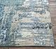 Jaipur Rugs - Hand Knotted Wool and Bamboo Silk Blue ESK-439 Area Rug Cornershot - RUG1085422
