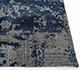Jaipur Rugs - Hand Knotted Wool and Bamboo Silk Blue ESK-446 Area Rug Cornershot - RUG1088534
