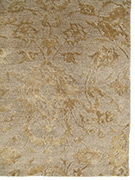 Jaipur Rugs - Hand Knotted Wool and Bamboo Silk Ivory ESK-623 Area Rug Cornershot - RUG1028163