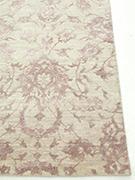 Jaipur Rugs - Hand Knotted Wool and Bamboo Silk Ivory ESK-623 Area Rug Cornershot - RUG1053791