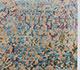 Jaipur Rugs - Hand Knotted Wool and Bamboo Silk Blue ESK-632 Area Rug Cornershot - RUG1036434