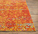 Jaipur Rugs - Hand Knotted Wool and Bamboo Silk Beige and Brown ESK-632 Area Rug Cornershot - RUG1072254