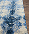 Jaipur Rugs - Hand Knotted Wool and Bamboo Silk Blue ESK-661 Area Rug Cornershot - RUG1074667