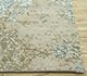 Jaipur Rugs - Hand Knotted Wool and Bamboo Silk Blue ESK-661 Area Rug Cornershot - RUG1087603