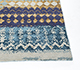 Jaipur Rugs - Hand Knotted Wool and Bamboo Silk Blue ESK-663 Area Rug Cornershot - RUG1090250