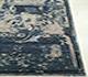 Jaipur Rugs - Hand Knotted Wool and Bamboo Silk Blue ESK-682 Area Rug Cornershot - RUG1062187
