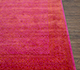 Jaipur Rugs - Hand Knotted Wool and Bamboo Silk Pink and Purple ESK-875 Area Rug Cornershot - RUG1074672