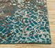 Jaipur Rugs - Hand Knotted Wool and Bamboo Silk Blue ESK-9012 Area Rug Cornershot - RUG1082846