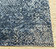 Jaipur Rugs - Hand Knotted Wool and Bamboo Silk Blue ESK-9012 Area Rug Cornershot - RUG1082912