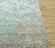 Jaipur Rugs - Hand Knotted Wool and Bamboo Silk Blue ESK-9012 Area Rug Cornershot - RUG1087172