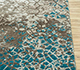 Jaipur Rugs - Hand Knotted Wool and Bamboo Silk Blue ESK-9012 Area Rug Cornershot - RUG1082902