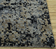 Jaipur Rugs - Hand Knotted Wool and Bamboo Silk Grey and Black ESK-9014 Area Rug Cornershot - RUG1094473