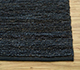 Jaipur Rugs - Shag Jute Grey and Black GI-07 Area Rug Cornershot - RUG1030434