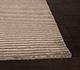 Jaipur Rugs - Hand Loom Wool and Viscose Beige and Brown HWV-2000 Area Rug Cornershot - RUG1031796