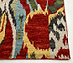 Jaipur Rugs - Hand Knotted Wool Red and Orange LCA-09 Area Rug Cornershot - RUG1054936