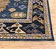 Jaipur Rugs - Hand Knotted Wool Blue LCA-2351 Area Rug Cornershot - RUG1101178