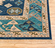 Jaipur Rugs - Hand Knotted Wool Blue LCA-2351 Area Rug Cornershot - RUG1101179