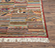 Jaipur Rugs - Hand Knotted Wool and Bamboo Silk Red and Orange LES-180 Area Rug Cornershot - RUG1071079