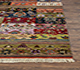 Jaipur Rugs - Hand Knotted Wool and Bamboo Silk Green LES-189 Area Rug Cornershot - RUG1071083